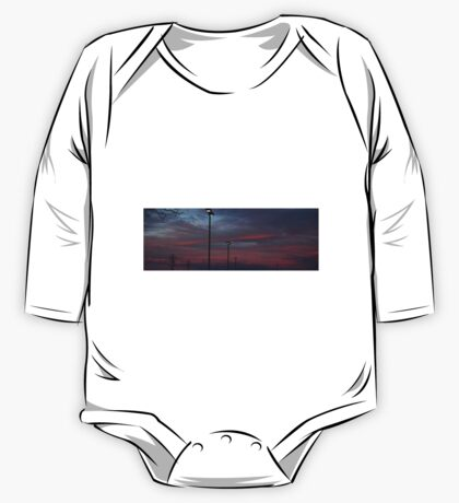 0987 - HDR Panorama - Sunset One Piece - Long Sleeve