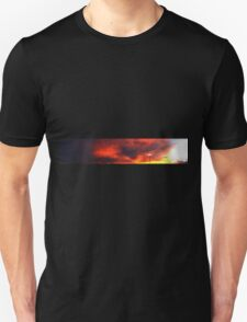 0988 - HDR Panorama - Blown Sunset Unisex T-Shirt