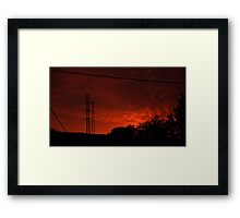 1007 - HDR Panorama - Dawn Framed Print