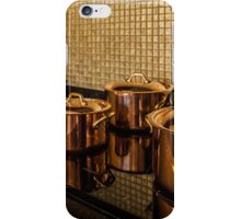 saucepans iPhone Case/Skin
