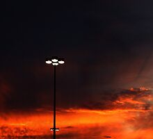 1013 - HDR Panorama - Sunset by wetdryvac