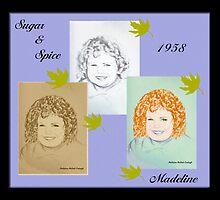 SUGAR & SPICE by Madeline M  Allen