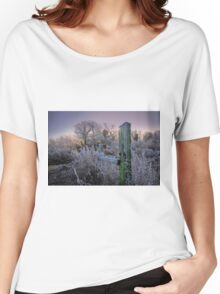 Cold Sunrise Women's Relaxed Fit T-Shirt