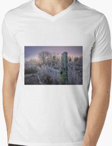 Cold Sunrise Mens V-Neck T-Shirt