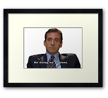 mo money, mo probs Framed Print