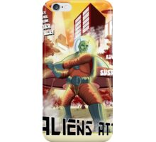 Alien Attack!   iPhone Case/Skin