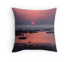 Sun Spilt Throw Pillow
