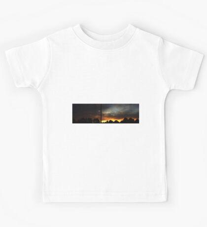 1017 - HDR Panorama - Sunset Kids Tee