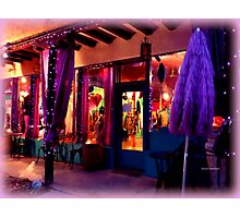 Festive Shop window Photographic Print