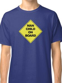 Man Child on Board Classic T-Shirt