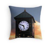 Clock Tower - Pleasant Grove, UT Throw Pillow