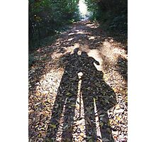 Shadow Walks Photographic Print