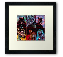 Undead Heroes Framed Print