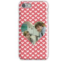 Jim and Pam iPhone Case/Skin