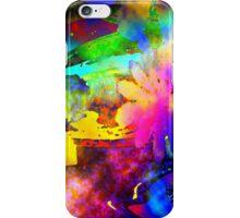 Fluorescence flowers iPhone Case/Skin