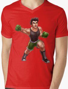 Little Mac Mens V-Neck T-Shirt