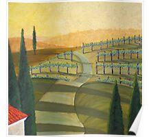 Tuscany Vinnicola II Poster