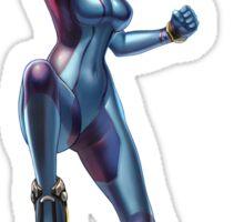 Zero Suit Samus (Smash 4) Sticker