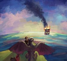 How to Train Your Dragon by yiamstuff