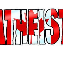 CANADIAN ATHEIST by atheistcards