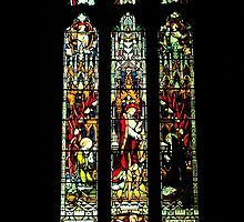 Stained Glass Window by DavidsArt