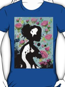 Floral Silhouette T-Shirt