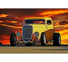 1933 Ford 'Three Window' Coupe  Photographic Print