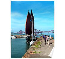 South Queensferry Harbour Poster