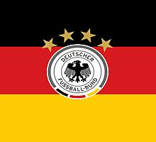 DFB on German Flag by MisterJfro