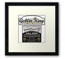 Goblin King Baby Care Services Framed Print