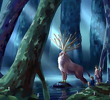 Princess Mononoke by yiamstuff