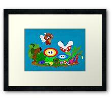 Nerd Garden Framed Print