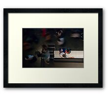 AsI Was Hovering About... Framed Print