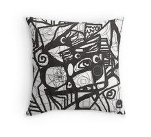 scribbles Throw Pillow