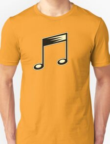 Vintage 40's Music Note  T-Shirt
