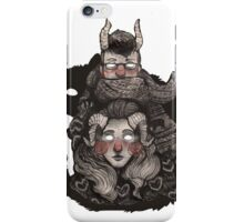 Poncho Monster iPhone Case/Skin