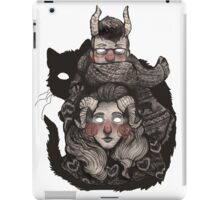 Poncho Monster iPad Case/Skin