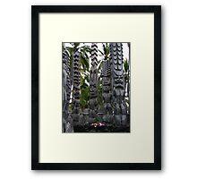 Tiki-Tiki Framed Print