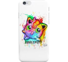 Cute Jigglypuff Watercolor Tshirts + More! iPhone Case/Skin