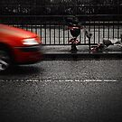 Passing Car by Dave Hiskey