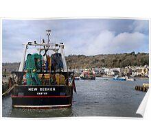 New Seeker - Lyme Regis Poster