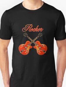 Rocker  Red Unisex T-Shirt
