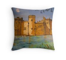 Bodium Castle Throw Pillow