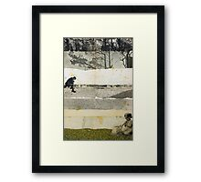 COMES A TIME Framed Print