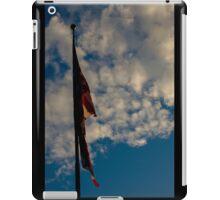 Damaged American Flag iPad Case/Skin