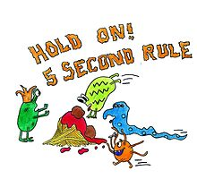 The 5 second rule by IAmErika