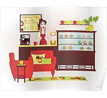 Grable-Baum Coffee Shop Poster