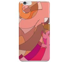 Abstract Pink Tangrams iPhone Case/Skin