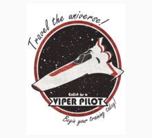 Travel The Universe!  Enlist as a Viper Pilot Today Kids Clothes