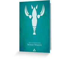 Wind Waker Greeting Card